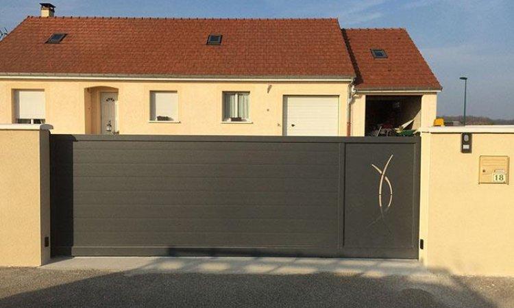 Pose de portail en aluminium Dijon
